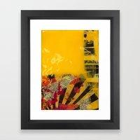 YELLOW4 Framed Art Print