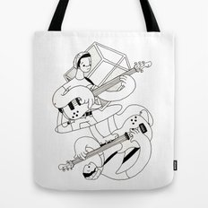 Crisp Bass Tote Bag