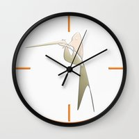 The lame hunter Wall Clock