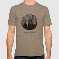 You can't see the forest for the trees Mens Fitted Tee Tri-Coffee SMALL