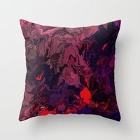 Facing Life Throw Pillow