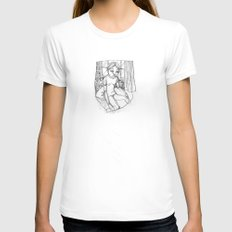 JANE EYRE  Womens Fitted Tee White SMALL
