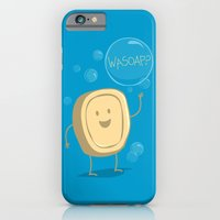 iPhone & iPod Case featuring Wasoap? by AnishaCreations