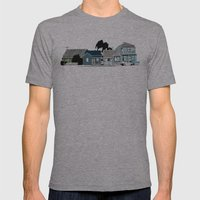 Carrington  Mens Fitted Tee Athletic Grey SMALL