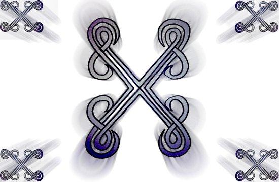 X's Canvas Print