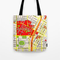 Map Design Of The Univer… Tote Bag