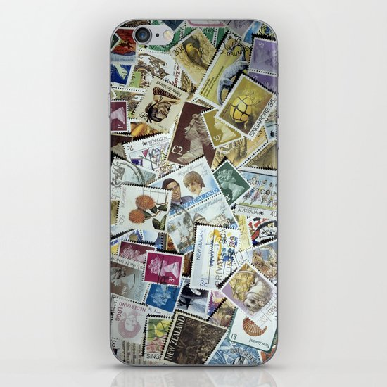 Stamps iPhone & iPod Skin
