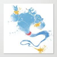 Genie Canvas Print