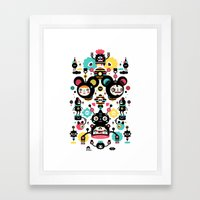Collaboration Muxxi X Ye… Framed Art Print