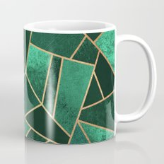 Emerald And Copper Mug