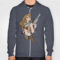Sassy Gunslinger Girl Hoody