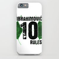 Ibrahimovic 10 Rules iPhone 6 Slim Case