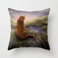 Onestar And His Power Throw Pillow