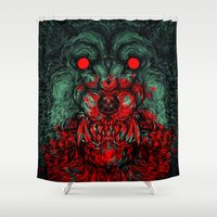 A Wolf In The Shape Of A… Shower Curtain