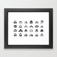 Friends Framed Art Print