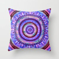 Mandala #2a Throw Pillow