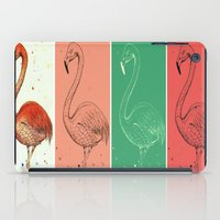 Fourmingos iPad Case