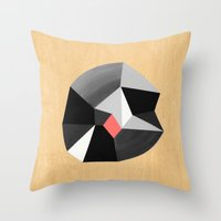 6x6 Shape No:02 Throw Pillow