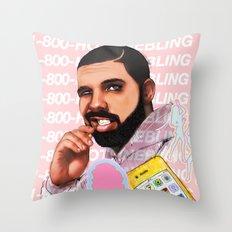 Hotline Bling Throw Pillow