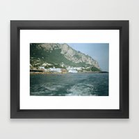 Capri 1 Framed Art Print