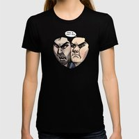 Sterek Womens Fitted Tee Black SMALL