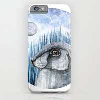 iPhone & iPod Case featuring Rabbit  by Nora Illustration