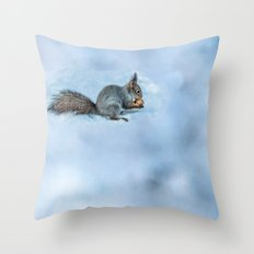 Tasty Nut Throw Pillow