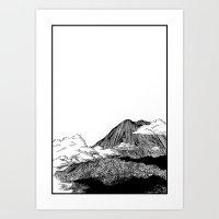 Yama Art Print