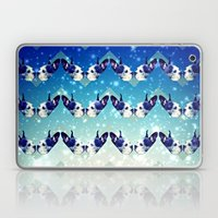 Bostons In The Sky With … Laptop & iPad Skin