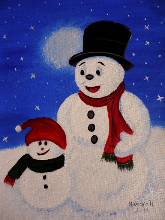 Hapy Holidays Art Print