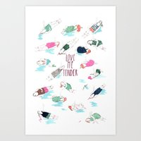 love me tender Art Print