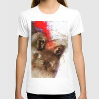 Nuns Womens Fitted Tee White SMALL