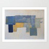 Art Print featuring Rustic Rhino by Fernando Vieira