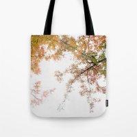 Autumn Origami Tote Bag