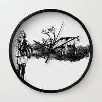 caribou Wall Clock