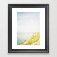 Dream Big Hillside Framed Art Print