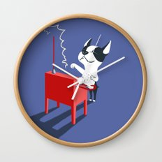 Boogie on Theremin Wall Clock
