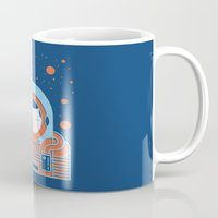 Orange Space Mug