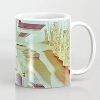 Santorini In Raspberry A… Mug