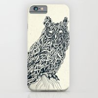 iPhone & iPod Case featuring Owl by Mike Koubou
