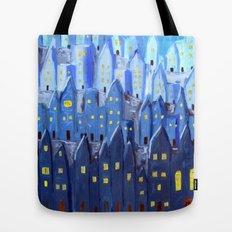 Cidade à Noite Tote Bag