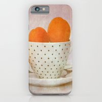 A Cup Full Of Apricots iPhone 6 Slim Case