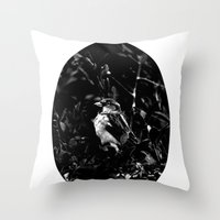 On The Side Of The Bird'… Throw Pillow