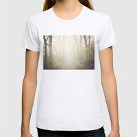 Into The Abyss  Womens Fitted Tee Ash Grey SMALL