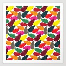 Plume Art Print