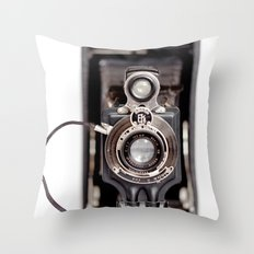 67-6 VINTAGE CAMERA COLLECTION  Throw Pillow