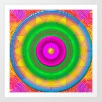 Sunshine And Rainbows Art Print