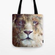 Lion // Majesty Tote Bag