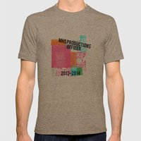 MHS Theatre Officer Shirt Mens Fitted Tee Tri-Coffee SMALL