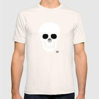 EYE SKULL Mens Fitted Tee Natural SMALL